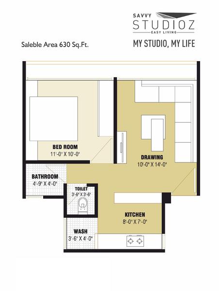 Savvy Studioz, Ahmedabad - Floor Plan