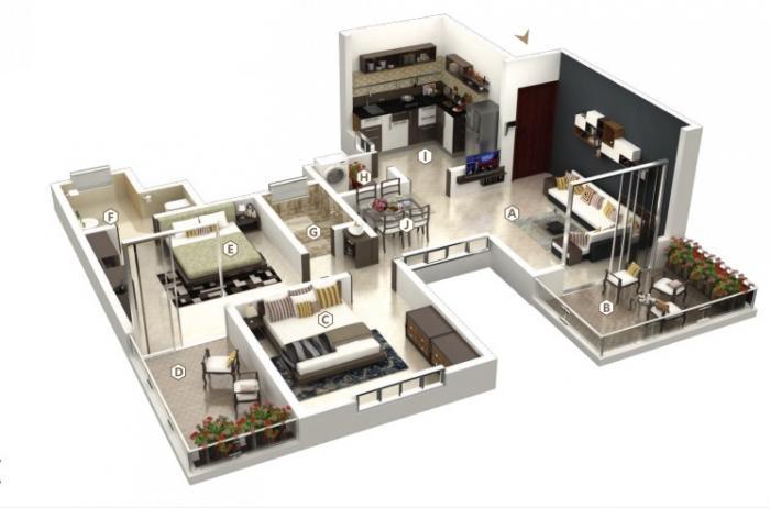 Shankeshwar Crimson, Pune - Floor Plan