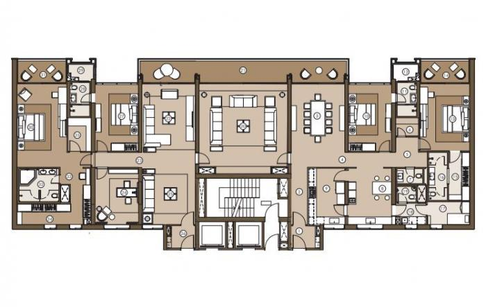 Panchshil Towers, Pune - Floor Plan