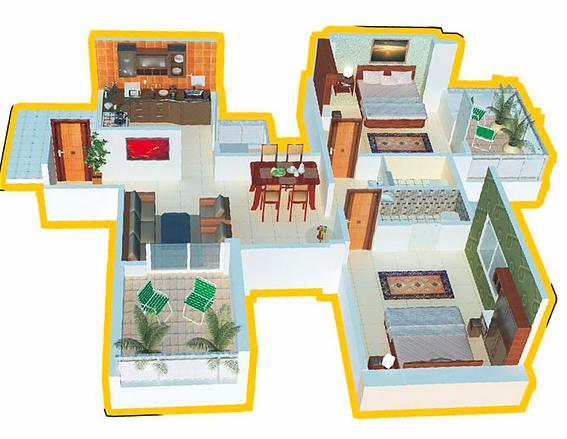 Sudhir Mandke Armaan, Pune - Floor Plan