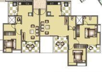 Ravinanda Sky Water, Pune - Floor Plan