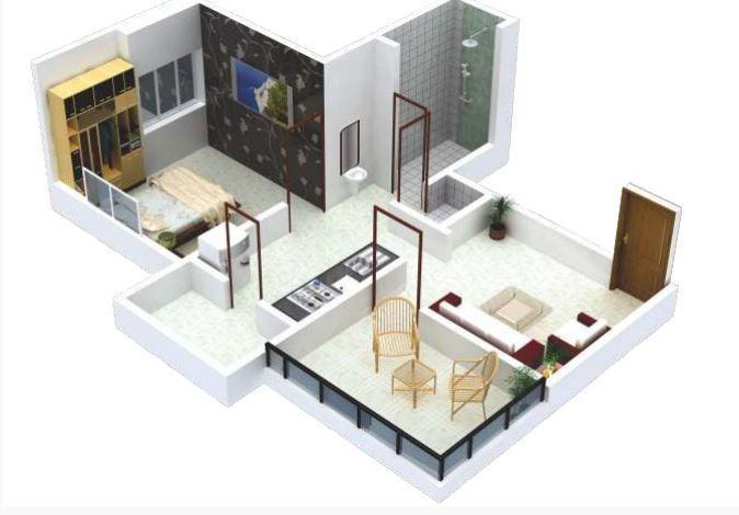 Srrinivas Ssky, Pune - Floor Plan
