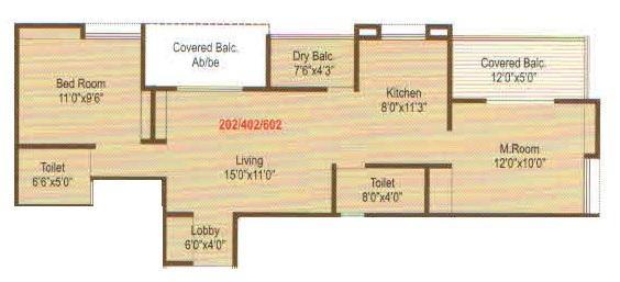 Laxmi Vishnupuram, Pune - Floor Plan