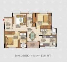 Salarpuria Sattva Navaratna, Coimbatore - Floor Plan