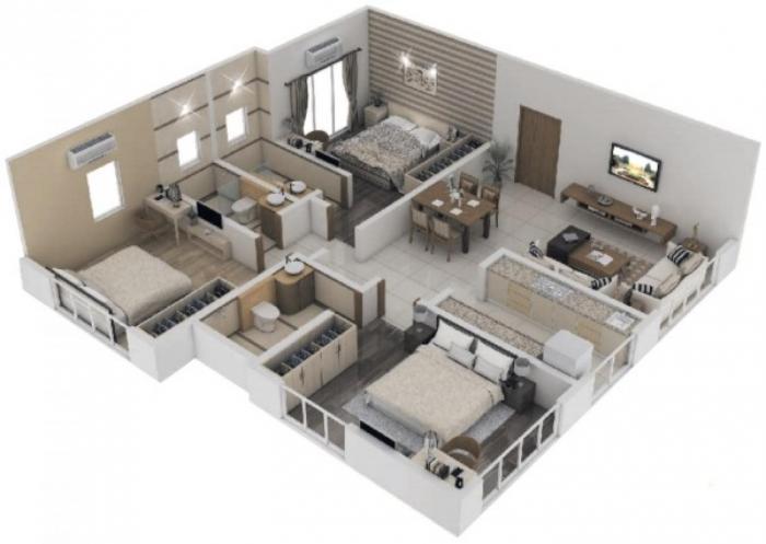 Ami Suvidha CHS LTD, Mumbai - Floor Plan