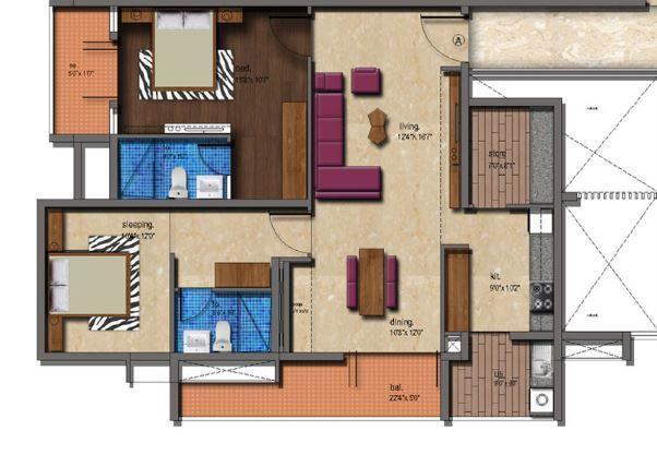 Paramount Siddhartha, Mysore - Floor Plan