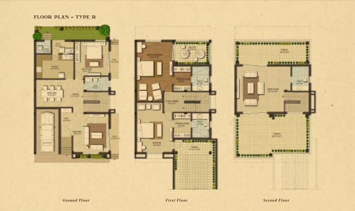 LGCL Pueblo, Bangalore - Floor Plan