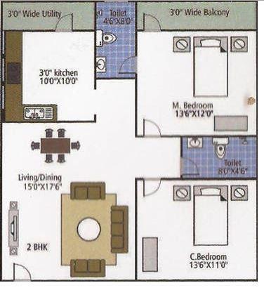 Shakthi Shelters, Bangalore - Floor Plan