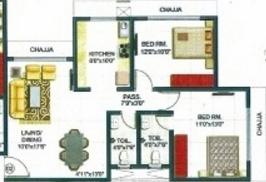 Romell Shraddha, Mumbai - Floor Plan