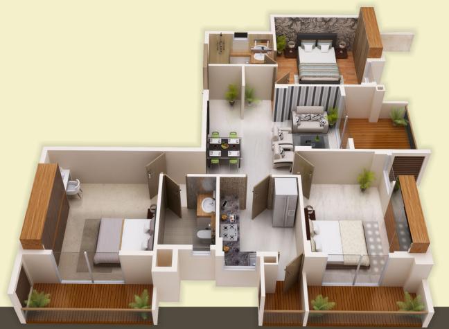 UBR Rantara Residency, Pune - Floor Plan
