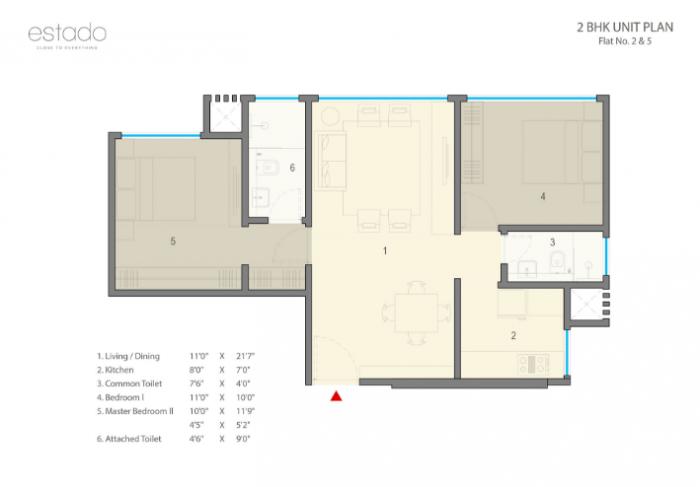 Ashapura Estado, Mumbai - Floor Plan