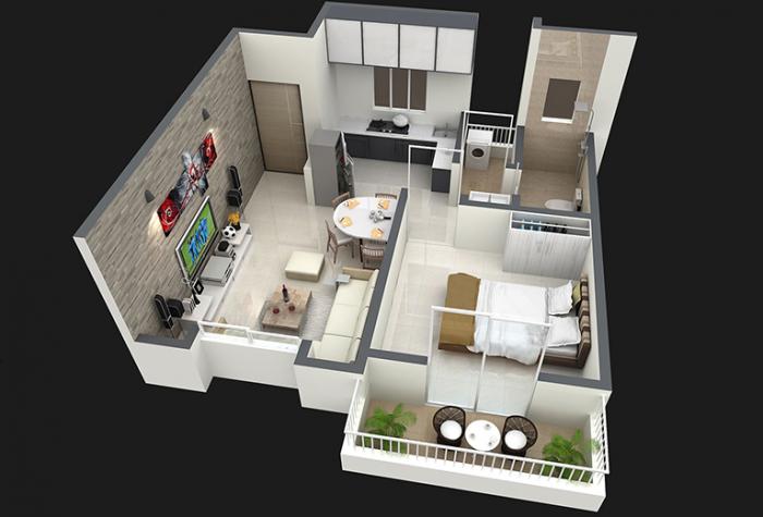 NG Rathi Madhupushpa, Pune - Floor Plan