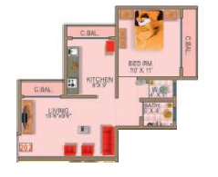 Shree Siddhi Apte Homes, Mumbai - Floor Plan