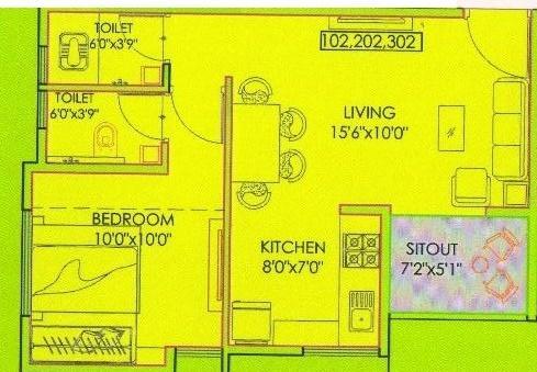 Samarth Dhanvatika, Pune - Floor Plan