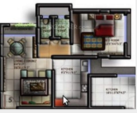Morya Crystal, Mumbai - Floor Plan