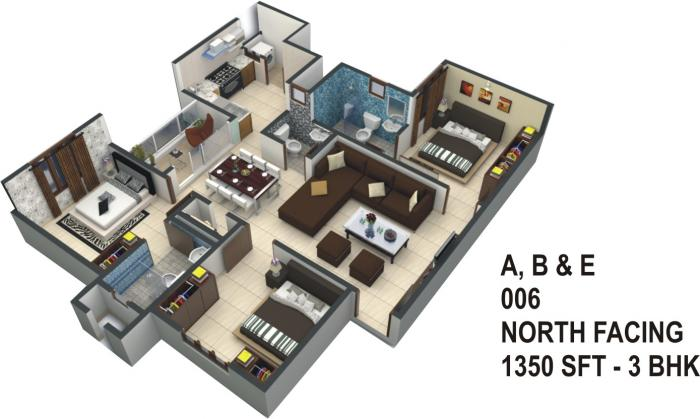 ATZ Ultima, Bangalore - Floor Plan