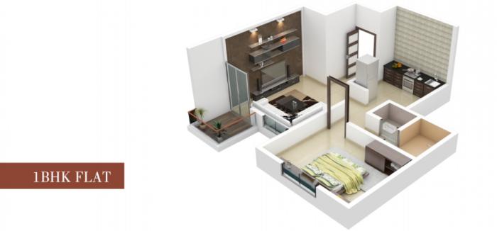 Sai Crown, Pune - Floor Plan