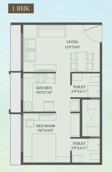 Shivam Aspire, Mumbai - Floor Plan