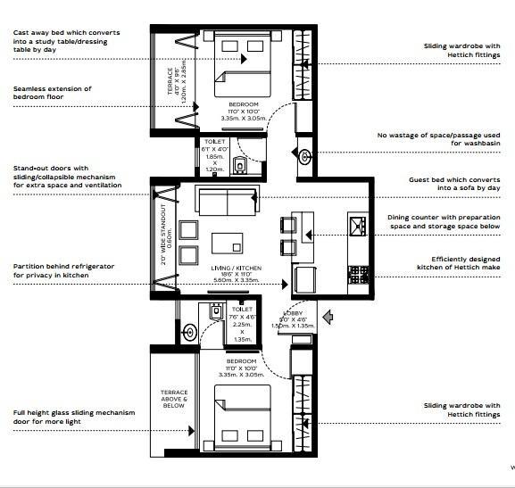 ULV Aapli, Pune - Floor Plan