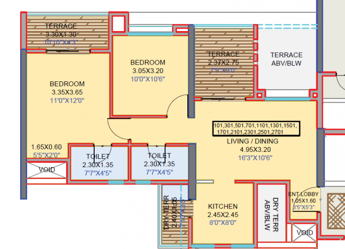 Guardian Cityscapes, Pune - Floor Plan