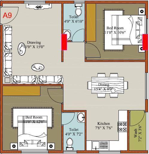 Subhams Antique City, Bangalore - Floor Plan