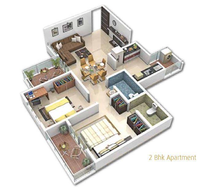 Namo Shine Square, Pune - Floor Plan
