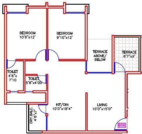 Atria Grande, Pune - Floor Plan