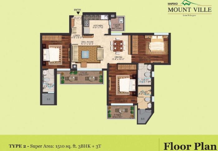 Mapsko Mount Ville Sector 79