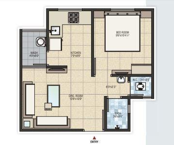 Savaliya Krish Elite, Ahmedabad - Floor Plan
