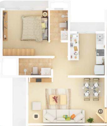 Aayush Aura, Mumbai - Floor Plan