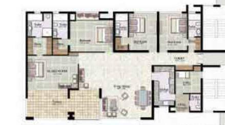 Jaypee Kalypso Court, Noida - Floor Plan
