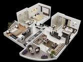 Ravindra Ravi Renaissance, Nashik - Floor Plan