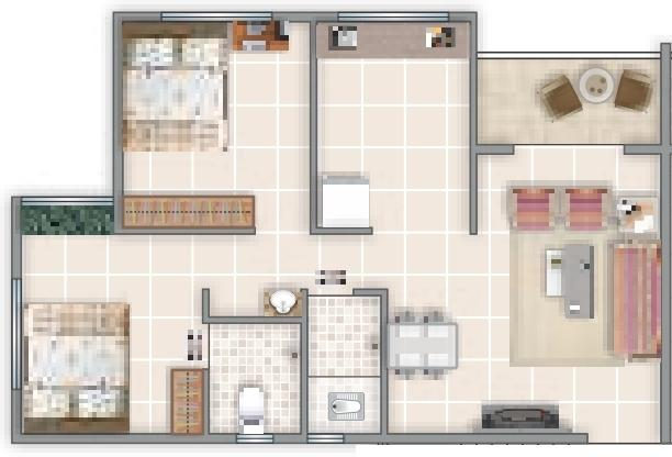 Shree Moraya Park, Nashik - Floor Plan