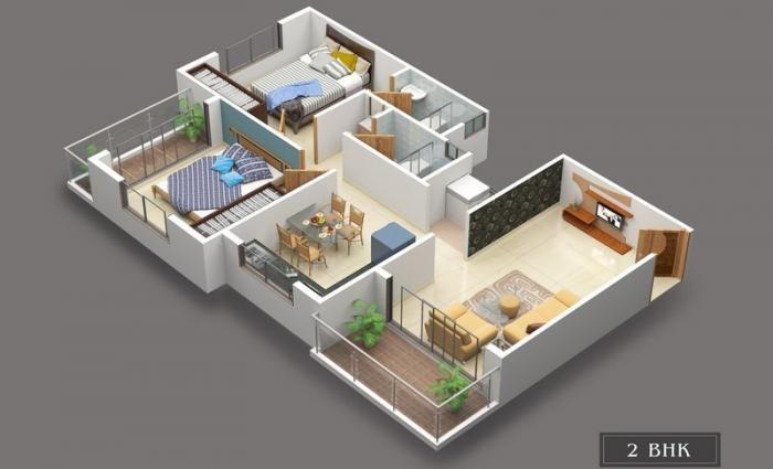 Skylarks Sapphire, Nashik - Floor Plan