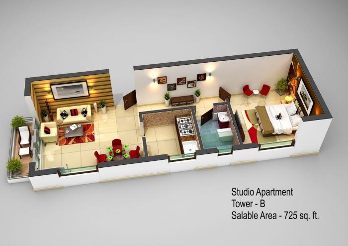 Adhiraaj Utopia Estate, Ghaziabad - Floor Plan
