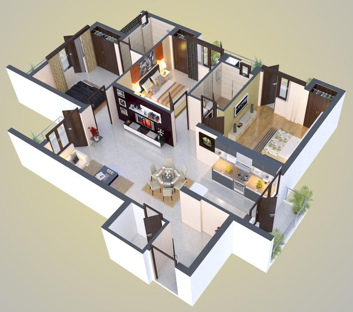 Adhiraaj Utopia Estate, Ghaziabad - Floor Plan
