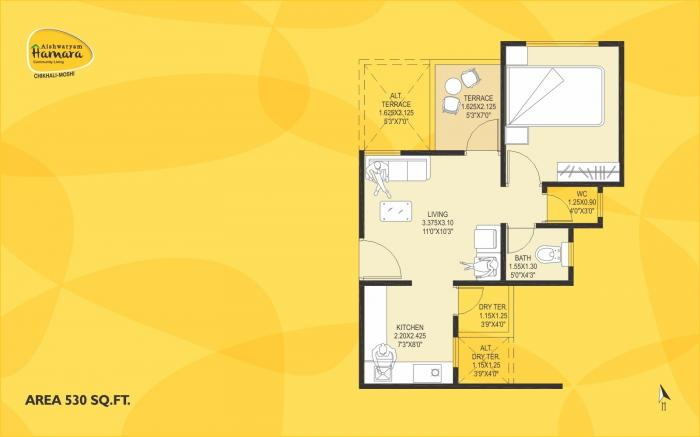 Aishwaryam Hamara, Pune - Floor Plan