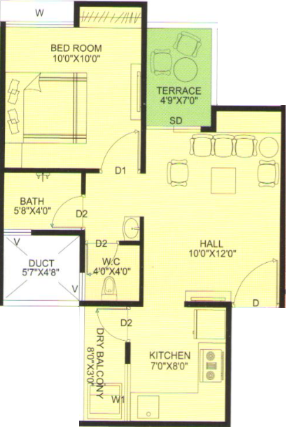 Pruthvi Ekdanta Homes, Pune - Floor Plan