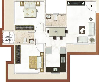 Sanghvi Estoria Heights, Mumbai - Floor Plan