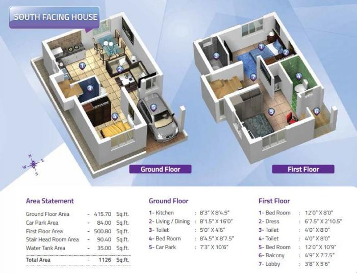 Altis Avenue, Chennai - Floor Plan