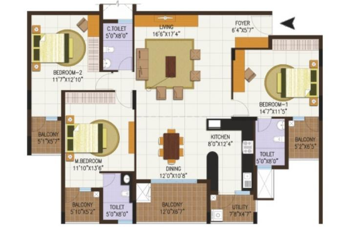 Century Central, Bangalore - Floor Plan