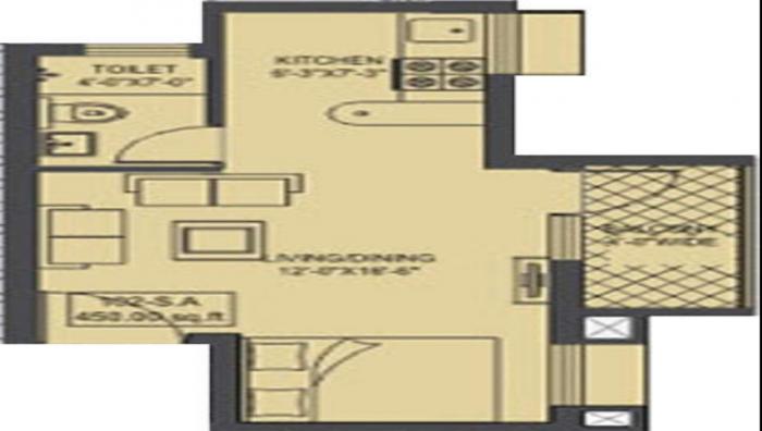Shakthi Sun City, Mangalore - Floor Plan
