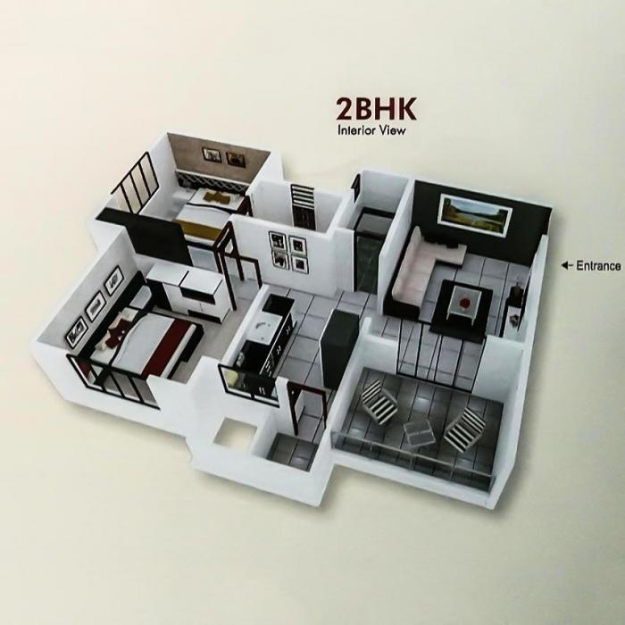 Vision Vatika, Pune - Floor Plan