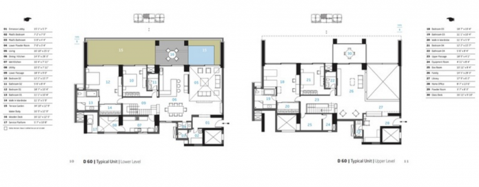 Total Environment Songs From The Wood, Pune - Floor Plan