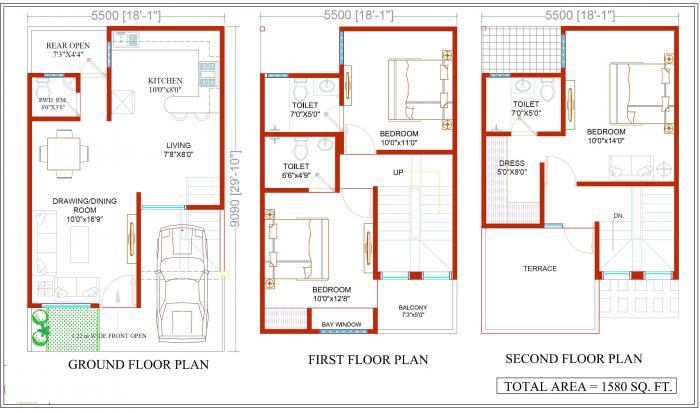 Renowned Srishti, Ghaziabad - Floor Plan