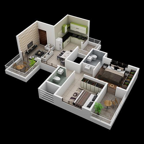 Pristine Greens, Pune - Floor Plan