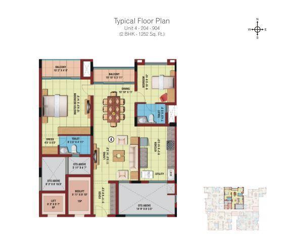 ETA Astra, Madurai - Floor Plan