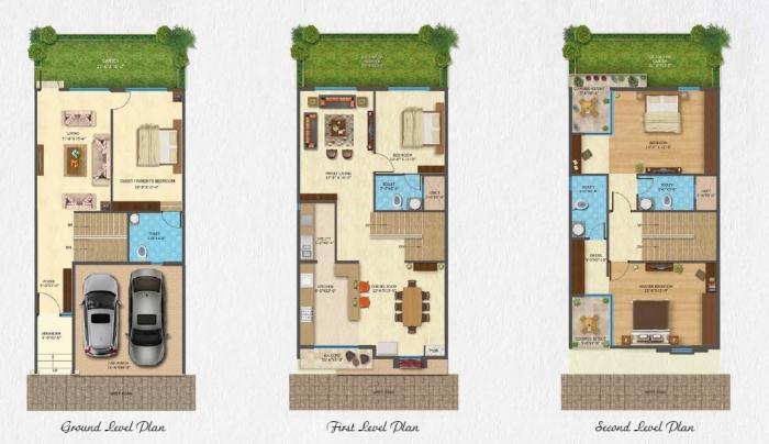 Daiwik Sparsh, Bangalore - Floor Plan