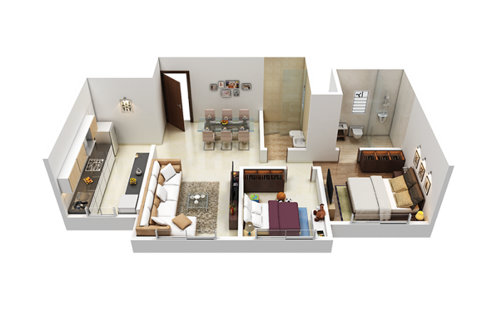 Kolte Patil Jai Vijay, Mumbai - Floor Plan