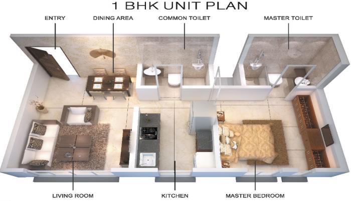 Starwing Kaatyayni Heights, Mumbai - Floor Plan